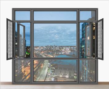 PAG | Slim casement window system